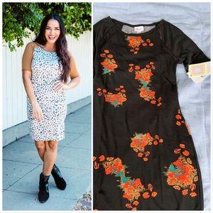 Lularoe Julia raglan dress xxs